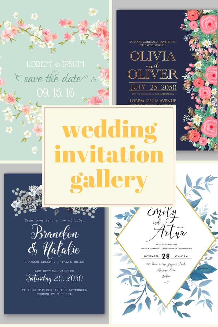 Fabulous Wedding Invitation Cards Design Template Online For Your Own Wonderful Ceremony