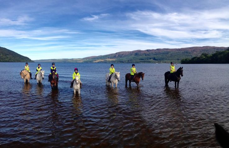 Borlum Farm Caravan & Camping Park, Drumnadrochit, By Inverness, Inverness-shire, Scotland. Holiday. Travel. Boat Trip. Fishing. Campsite. Horse Riding.