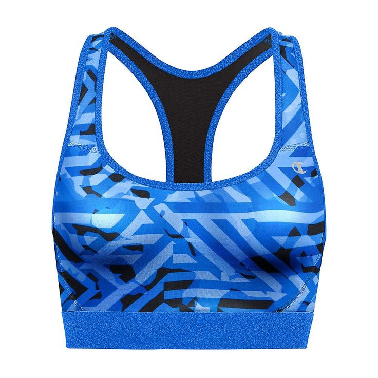 Champion The Absolute Workout Printed Sports Bra, Style