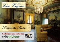 2 giorni e 1 notte per 2 persone in camera Deluxe con prima colazione e aperitivo di benvenuto presso l'elegante Dimora Casa Eugenia, nel borgo medioevale di Loro Ciuffenna (Arezzo)! Certificato d'eccellenza Tripadvisor!  € 79.00