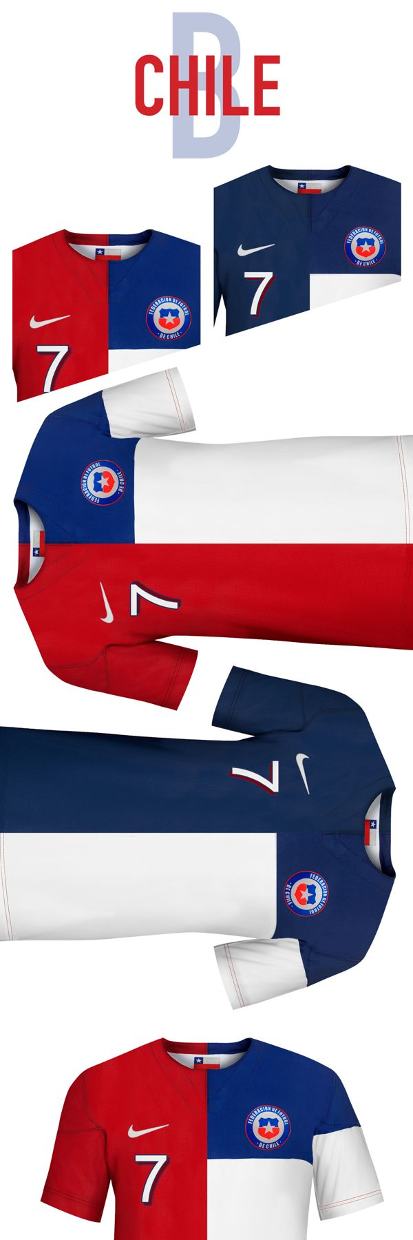 Chile. World Cup. Group B. Concepts on Behance