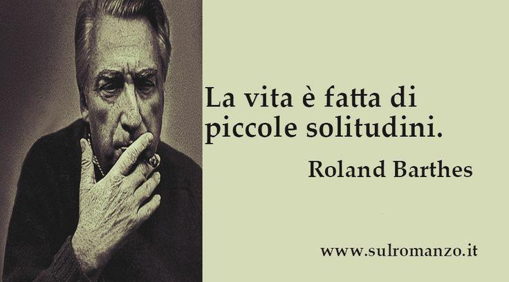 Roland Barthes #aforismi