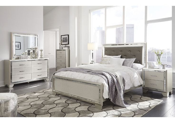 Best Buy Furniture and Mattress Lonnix Queen Panel Bed w ...