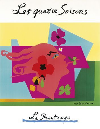 Les quatre Saisons - Expositions - Archives Pierre Bergé Yves Saint Laurent