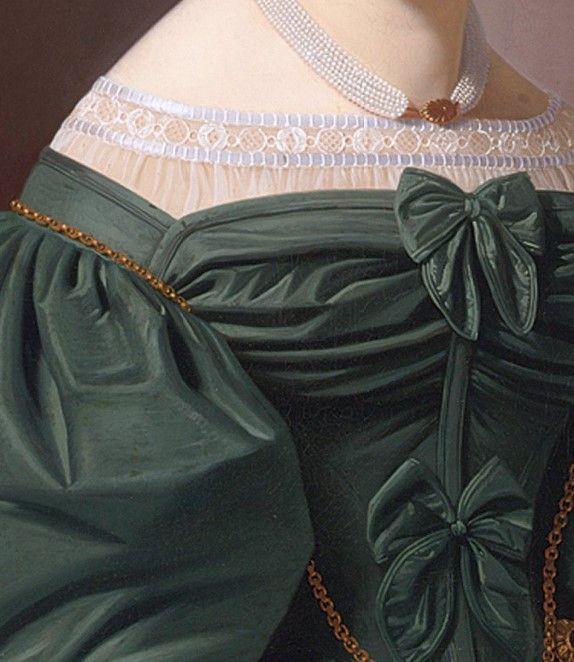 Portrait of Emilie Feustell by Johann Christian Ludwig Tunica