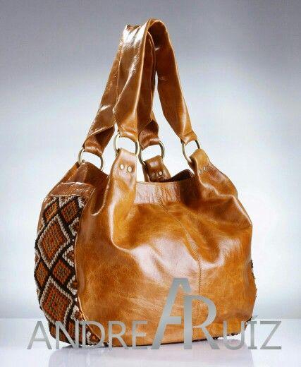 Leather Bag Julieta by Andrea Ruíz