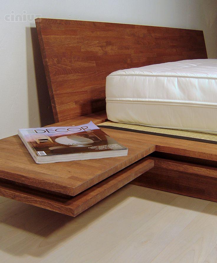 Oltre 25 fantastiche idee su comodini camera da letto su - Letto che si chiude ...