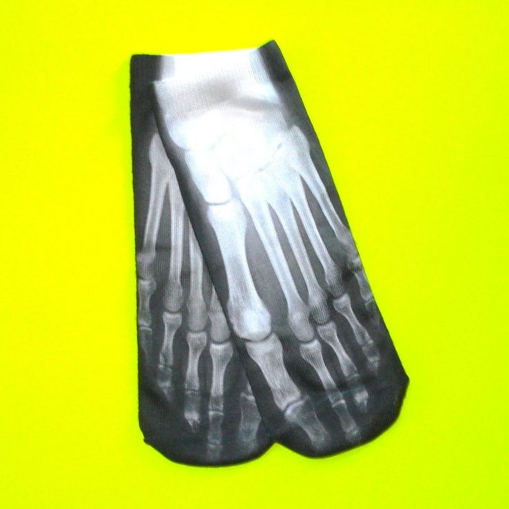 X-Ray Vision Ankle Socks