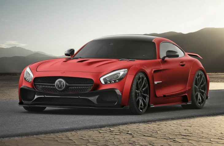 Mercedes-Benz GT S AMG Mansory