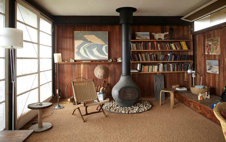 Midcentury cabin Duck Harbor Cottage