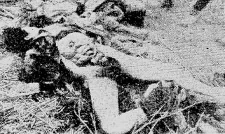Japanese massacre & rape of Nanking, China. Little girls, women & elderly's were raped regardless of age or whether they were pregnant. The Japanese also used objects such as bayonets, glass etc to insert into their private parts and mutilated them. Japan has for over 70 years denied the horrific scope of what happened. They only admit the less torturous war crimes. Let's not let that happen and share this around in order for the victims families & fellow countrymen to move on.