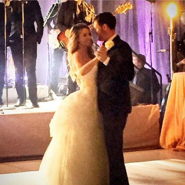Mr. and Mrs. Dale Earnhardt Jr first dance