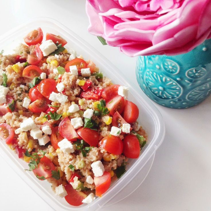 Spring Couscous Salad (V) | will work for food | Pinterest