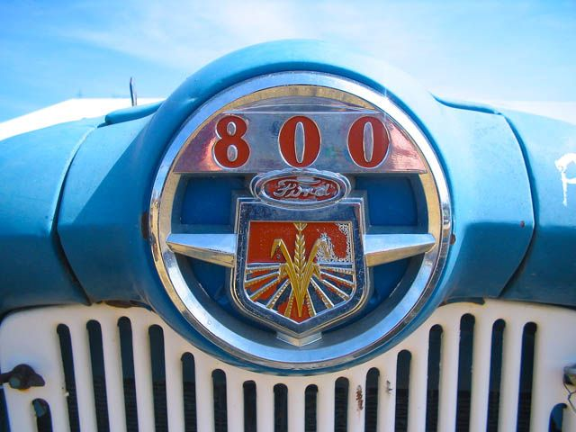 Old Ford 800 Tractor Emblem. We Have All Types Of Cool