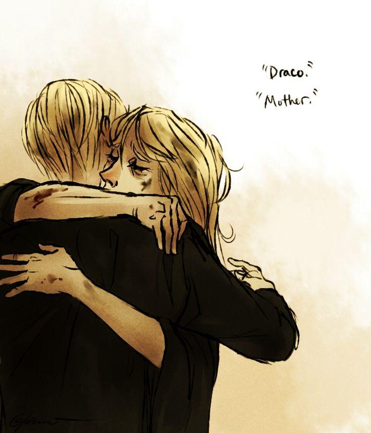 Draco Malfoy and Narcissa Malfoy