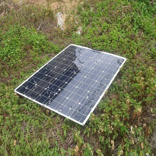 Flexible Solar Panel Plate 140w 18v Solar Charger For Car Battery 12v Monocrystalline Silicon Cells Modu In 2020 Solar Panels Flexible Solar Panels Solar Energy Panels