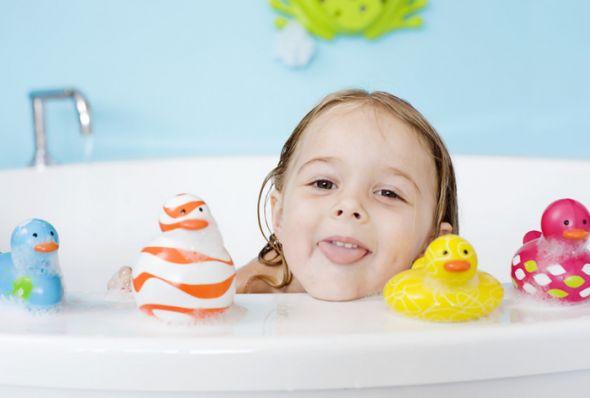 5 τρόποι για να θέλει να κάνει μπάνιο!