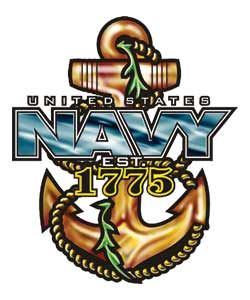 If I have the honor of serving in the US Navy someday, I want a tattoo similar to this.