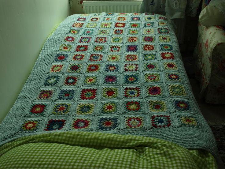 Finally Finished – Baby Granny Blanket | Little Tin Bird