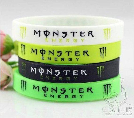 Hey, check it out! Monster Energy Drink bracelets! https://www.etsy.com/listing/188830492/monster-energy-drink-wrist-band-bracelet