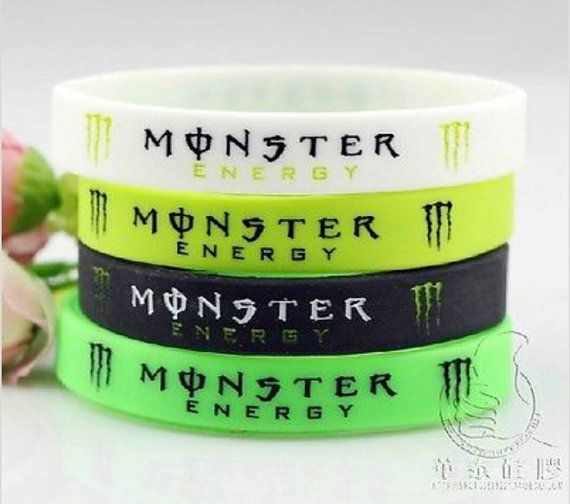 Hey, check it out! Monster Energy Drink bracelets! https://www.etsy.com/listing/188830492/monster-energy-drink-wrist-band-bracelet