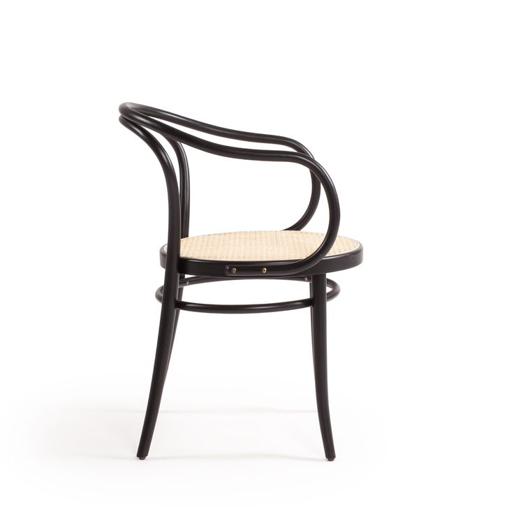 No 30 stol, svart/rotting – Ton – Köp online på Rum21.se