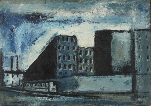 Mario Sironi - Periferia, 1948