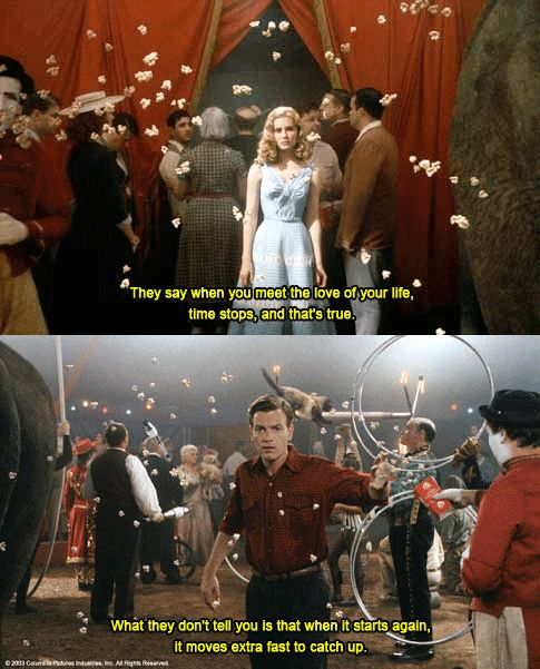 """Big Fish"" (2003) >> Ewan McGregor & Alison Lohman ❤️ 