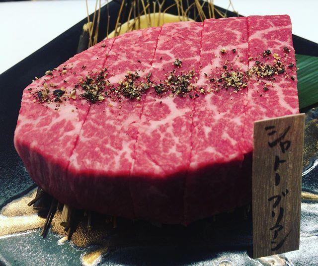 肉も値段も最高級♫  #焼肉 #黒毛和牛 #東伯和牛 #鳥取和牛ブランド #A5 #赤身 #ホルモン #肉 #茅ヶ崎 #湘南 #アイナビ… #七輪 #炭 #希少部位