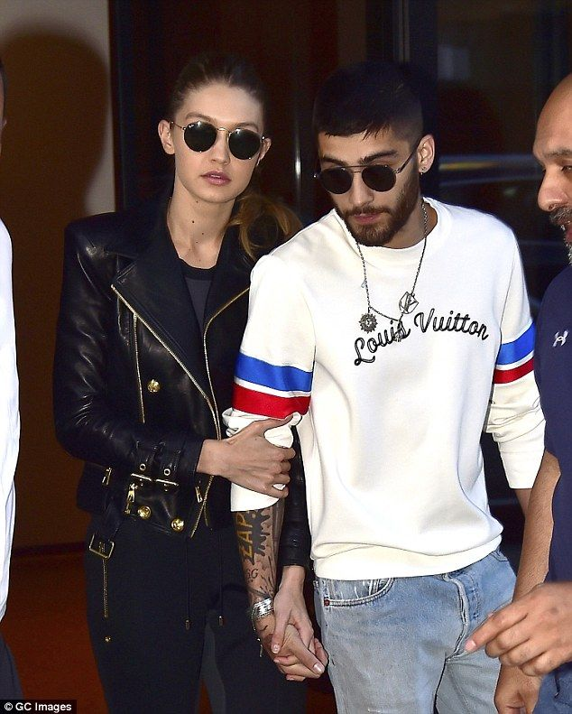 Back for good:Gigi's message came just days after the pair reconciled following a reporte...