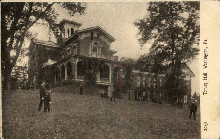 Trinity High School, Washington, PA.  I went to High School here.