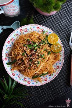 Dry Fried Mee Siam - Bear Naked Food