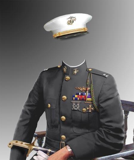 Фотошоп костюм военный