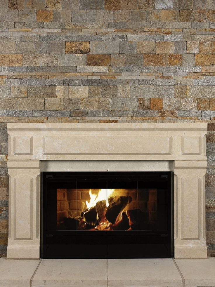 217 best Fireplaces using stone images on Pinterest | Fireplaces ...