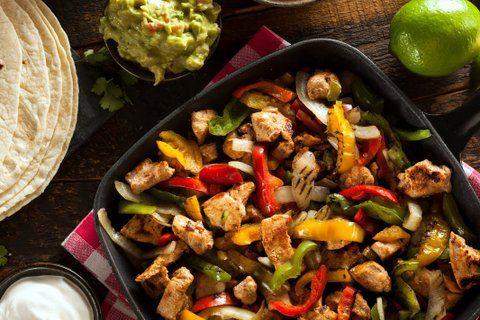 Turkey Fajitas Recipe