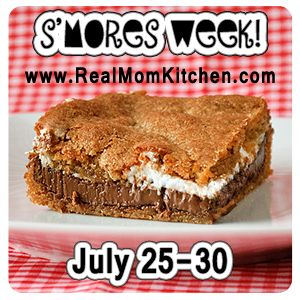 Heck yeah!  I am loving idea of a new Smore recipe every night....during summer why not???