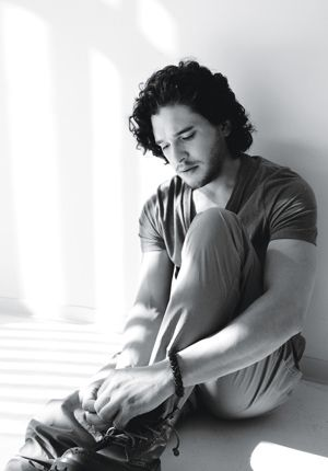 And then God bestowed Kit Harington of Game of Thrones to this Earth to make all the women go cray. <--- truth!!!