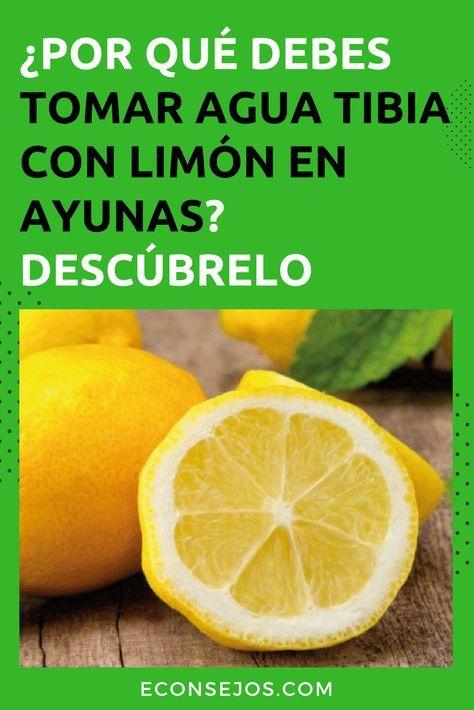 De con agua limon templada ayunas zumo en