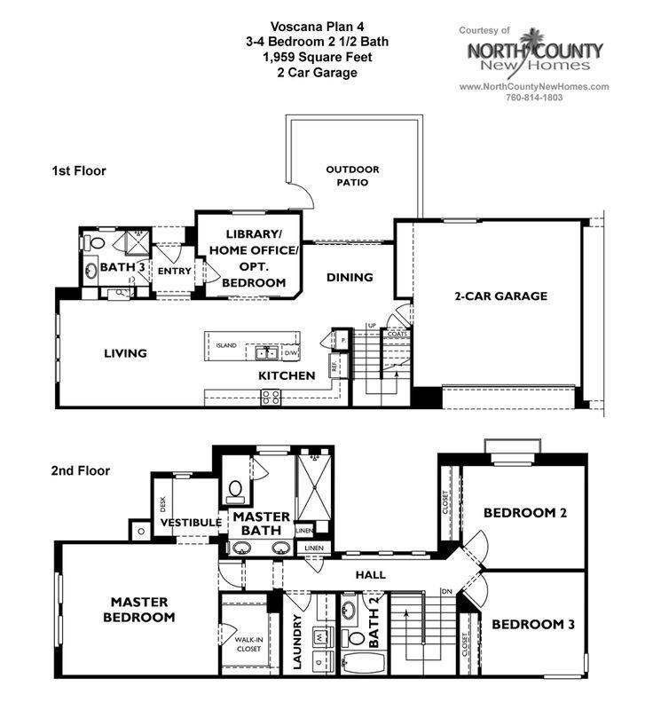 Shea Homes Trilogy Floor Plans