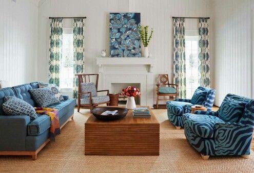 Sofa colorido...ousado e lindo!