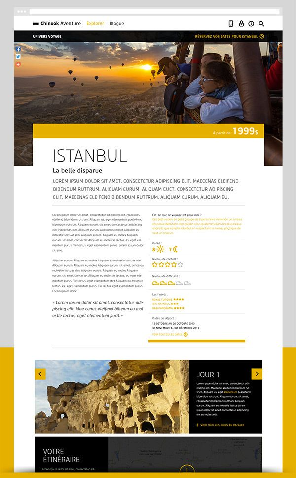 Chinook Aventure 2013 by 8 Bis Agency , via Behance