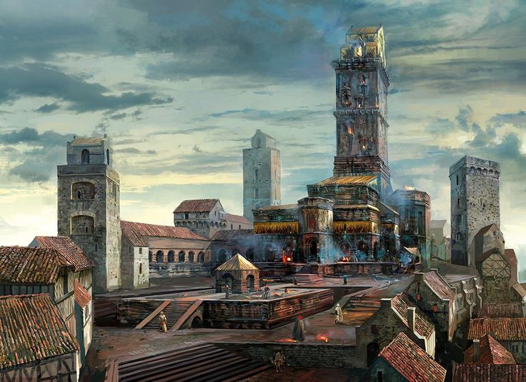 Image result for D&D temple city
