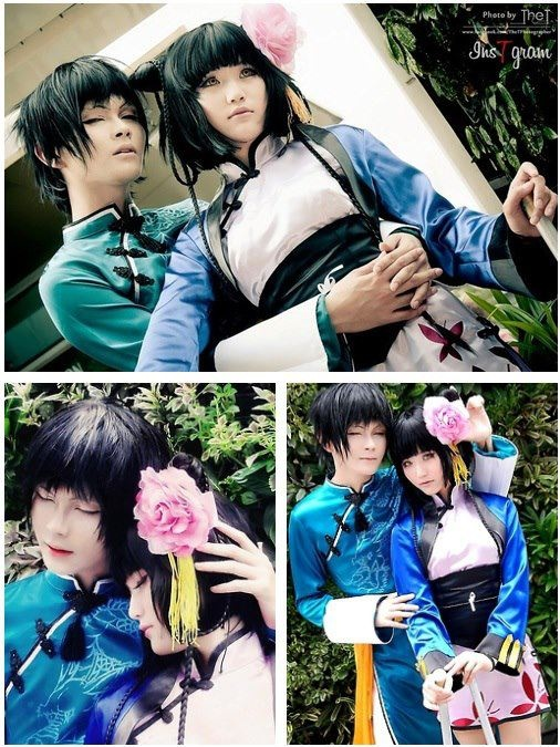 Lao and Ranmao - Kuroshitsuji Black Butler strangely some of my favorite characters from the show