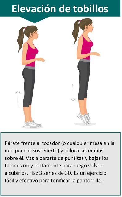 4 Ejercicios para tener piernas torneadas - Reto de 30 días Fitness