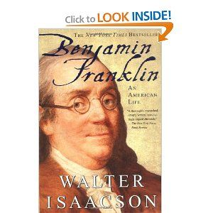 In his recommendation for Steve Jobs, Adrian Cronje said that he was eager to read Steve Jobs because of how much he enjoyed Walter Isaacson's book about Benjamin Franklin.  Learn more about Benjamin Franklin: An American Life in the link.