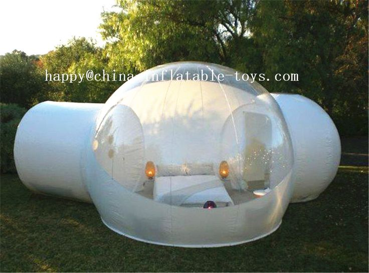 awesome Outdoor Camping Transparent Bubble Tent Cheap Clear Lawn Inflatable Dome Tent Inflatable Bubble Room , Wedding Tents For Sale