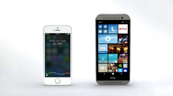 Siri vs. Cortana – Mirror Mirror (Commercial)