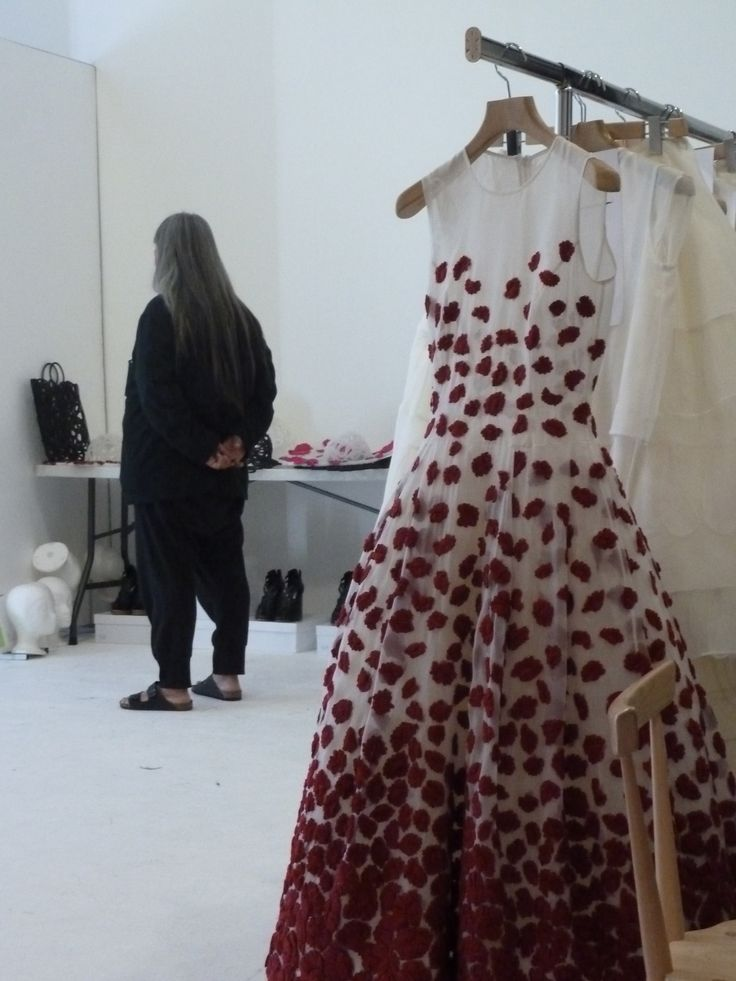 Fitting day before the show in studio in London #ss14 #johnrocha #backstage #fashion #style photo courtesy of Jana Heimanis