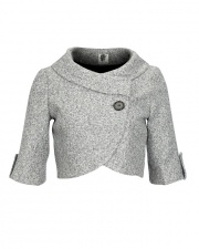 I want to refashion a long, unflattering sweater in to this adorable little thing!