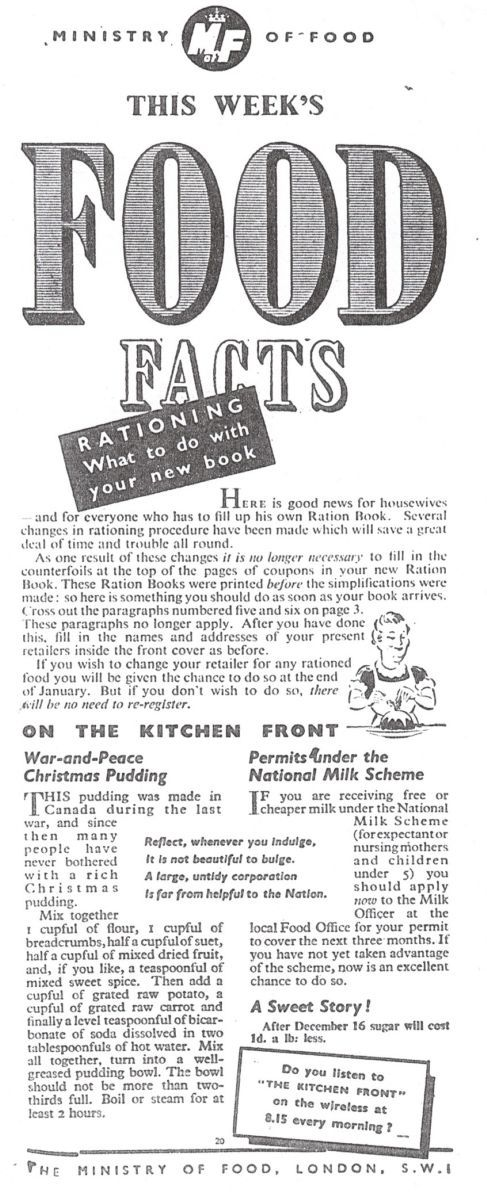 106 best WWII Food Rationing images on Pinterest | Vintage recipes ...